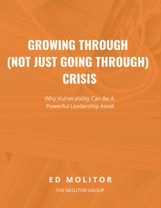 Growing through (not just going through) crisis